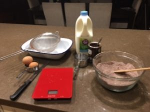 Ingredients for Choc Self Saucing Pudding by Matt Preston